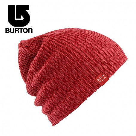 Bonnet BURTON All Day Long Rouge Unisexe