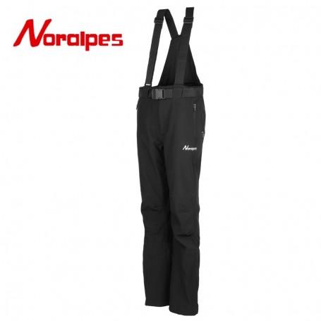 Pantalon Softshell NORALPES Plume Noir Unisexe