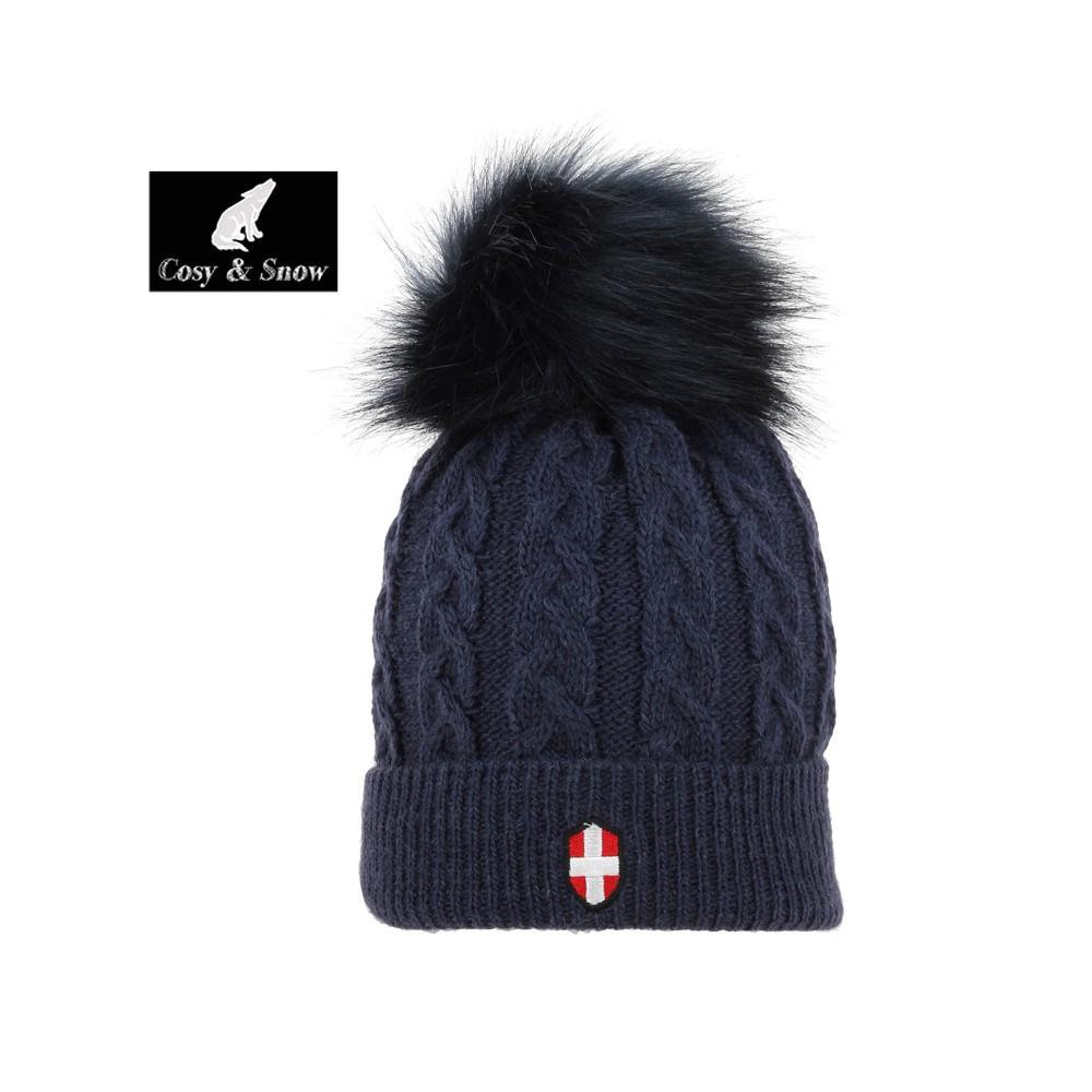 Bonnet de ski COSY & SNOW Steph Bleu marine Unisexe
