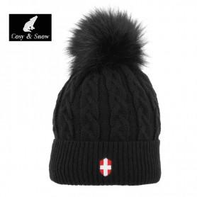 Bonnet de ski COSY & SNOW Steph Noir Unisexe
