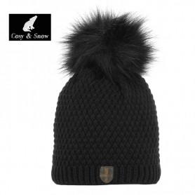 Bonnet de ski COSY & SNOW Nina Noir Femme