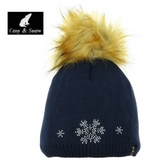 Bonnet de ski COSY & SNOW Tristar Bleu marine Femme