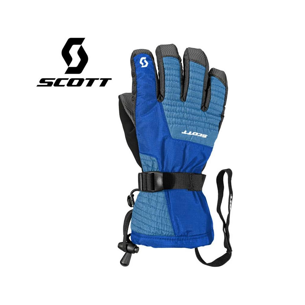 Gants de ski SCOTT JR Ultimate Bleu Junior