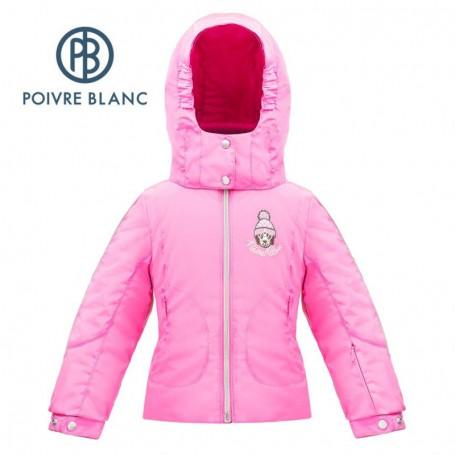 Veste de ski POIVRE BLANC W17-1006 BBGL/N Rose BB Fille