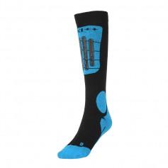 Chaussettes de ski Technical Ski Socks Noir / Bleu Unisexe