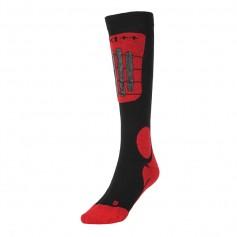 Chaussettes de ski Technical Ski Socks Noir / Rouge Unisexe