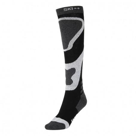 Chaussettes de ski SKI SOCKS Noir / Gris Unisexe