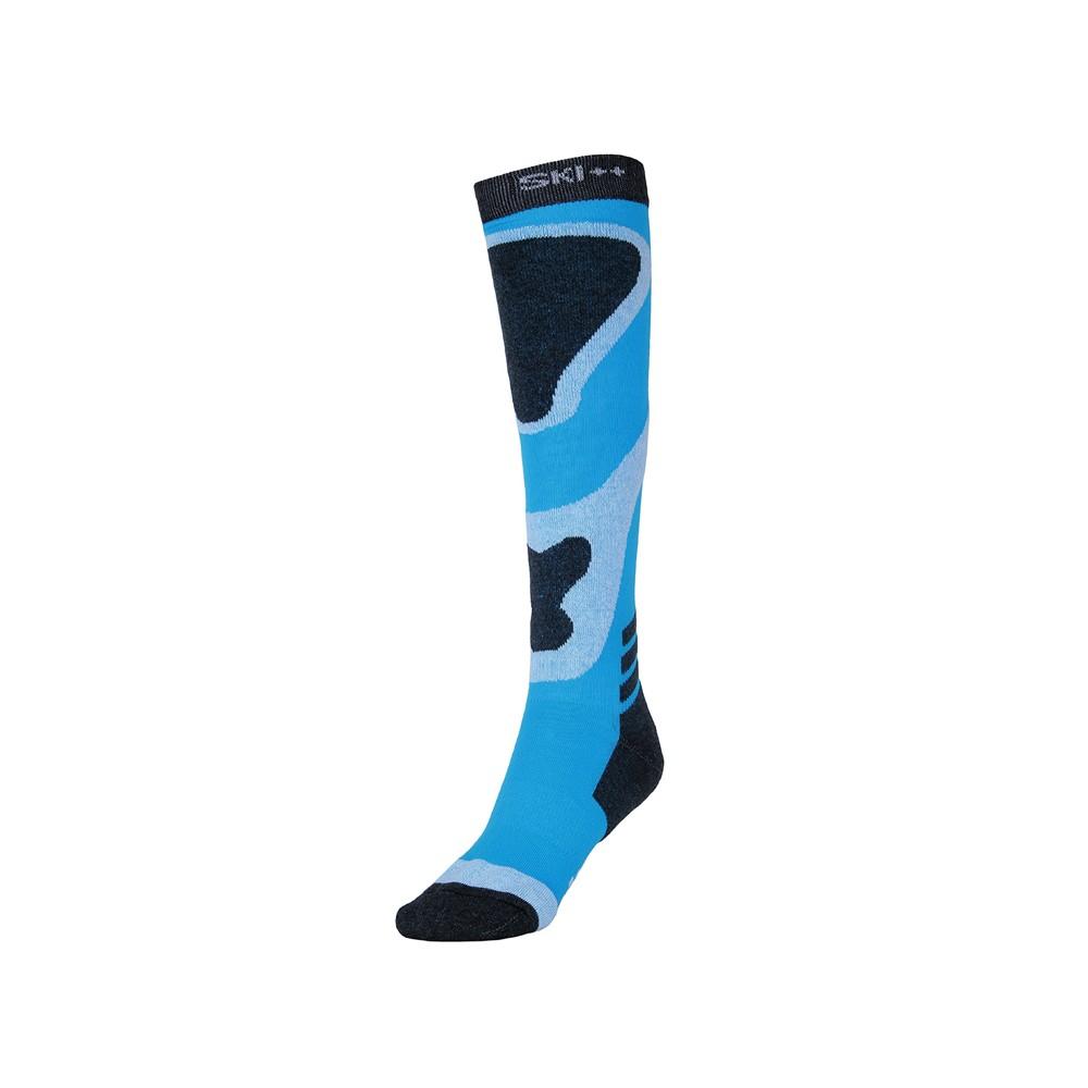 Chaussettes de ski SKI SOCKS Bleu / Noir Unisexe