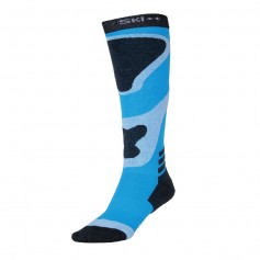 Chaussettes de ski SKI SOCKS Bleu / Noir Junior