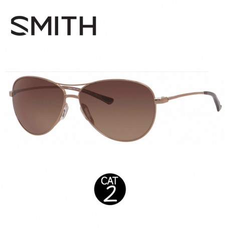 Lunettes SMITH Langley Rouge Or Femmes