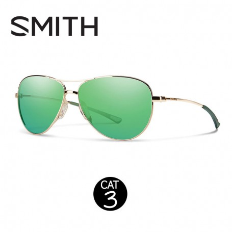 Lunettes SMITH Langley Vert Or Femme