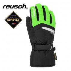 Gants de ski REUSCH Bolt Gtx Noir / Vert Junior
