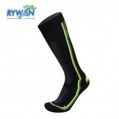 Chaussettes de ski RYWAN Cortina Noir / Gris / Jaune Unisexe