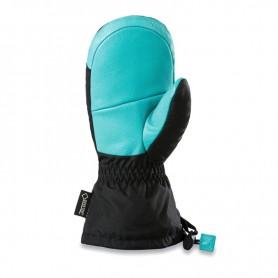 Moufles de ski DAKINE Kids Rover Noir / Turquoise