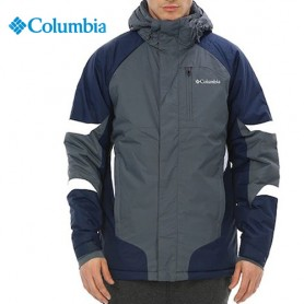 Veste de ski COLUMBIA Shredinator Gris / Bleu marine Homme