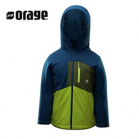 Veste de ski ORAGE Comox Bleu nuit Garçon