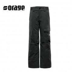 Pantalon de ski ORAGE Tarzo Noir Garçon