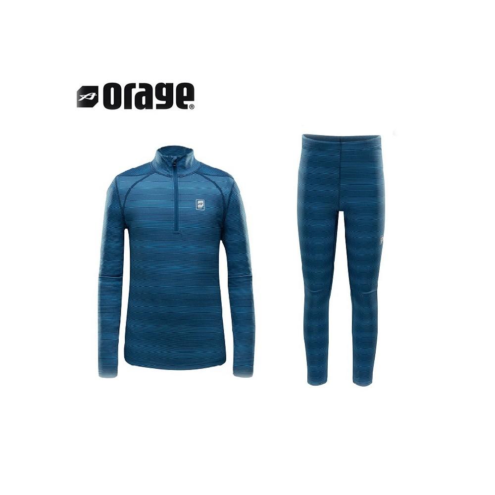 Ensemble thermique ORAGE Mic Mac  Bleu Junior
