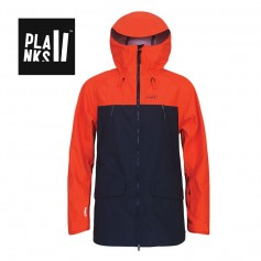 Veste de ski PLANKS Yeti Hunter Orange Homme