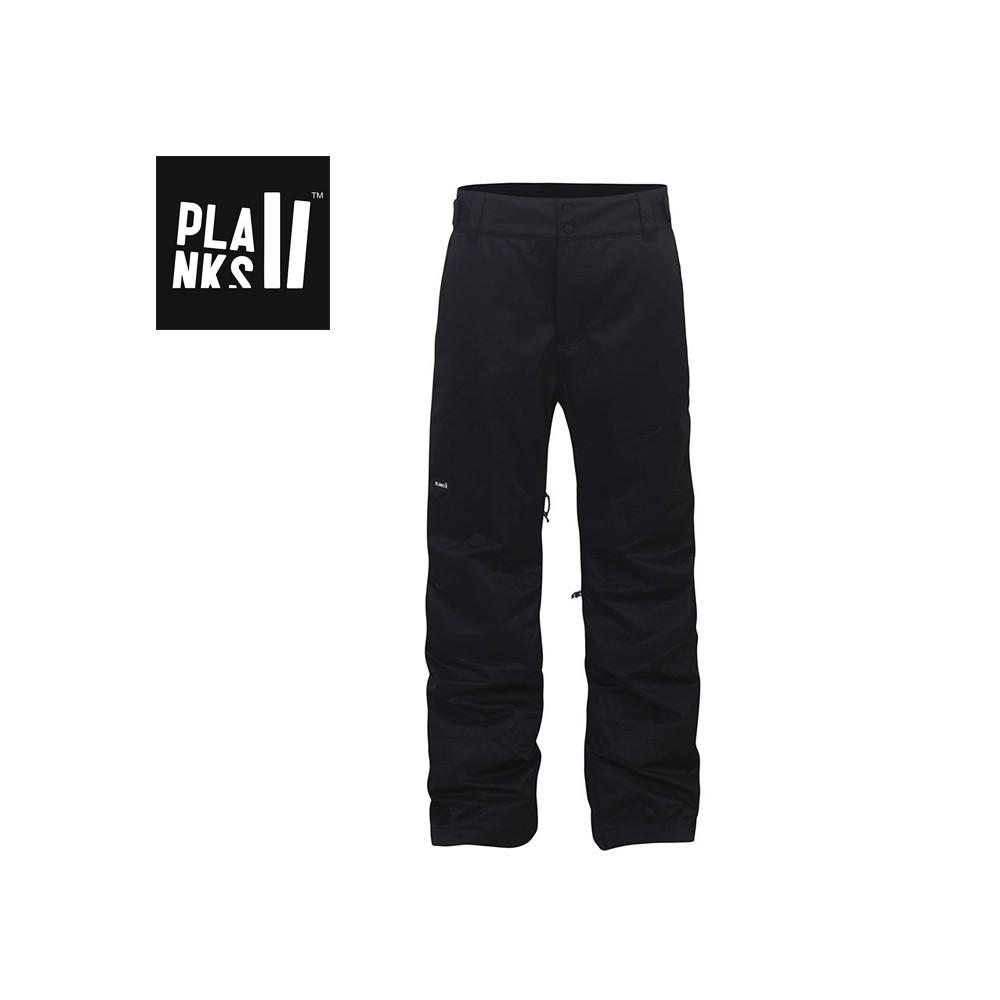 Pantalon de ski PLANKS Feel Good Black Homme