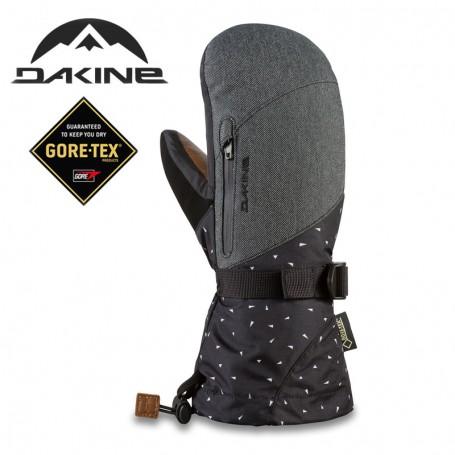 9f8062677bc53 Moufles de ski DAKINE Leather Sequoia Gtx Gris Femme - Sport a tout prix