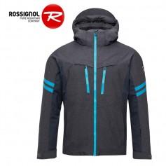 Veste de ski ROSSIGNOL Ski Oxford Bleu chiné Homme