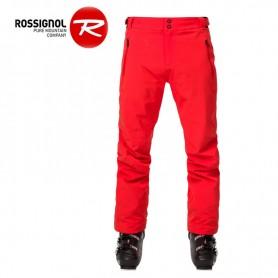 Pantalon de ski ROSSIGNOL Course Rouge orangé Homme