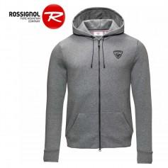 Sweat zippé ROSSIGNOL Classique HZ Gris Homme
