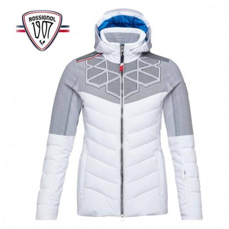 Veste de ski ROSSIGNOL Supercorde Blanc Femme Sport a tout prix