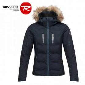 Veste de ski ROSSIGNOL Controle Oxford Gris Rose Femme