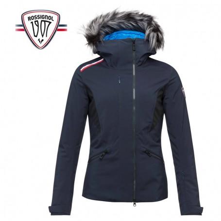 Veste de ski ROSSIGNOL Cadran bleu marine femme Sport à tout prix