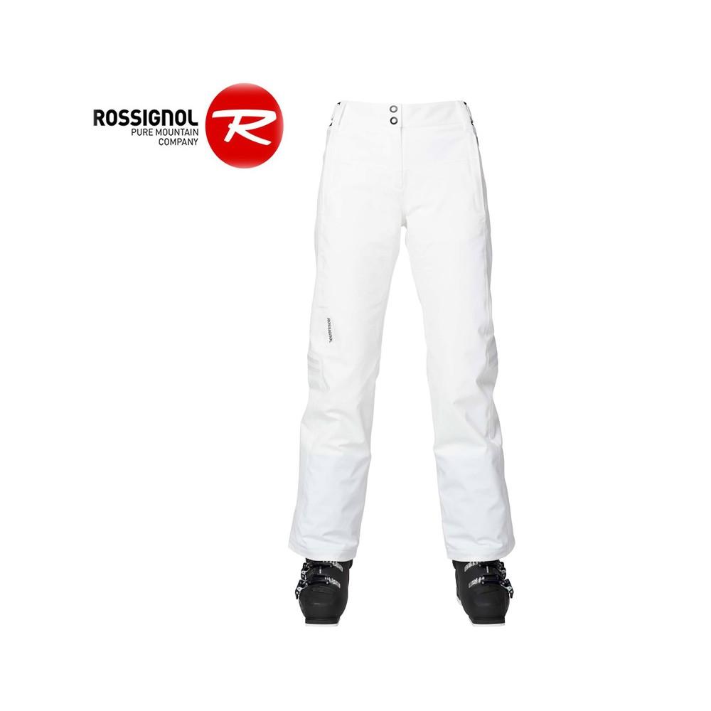 Pantalon de ski ROSSIGNOL Elite Blanc Femme