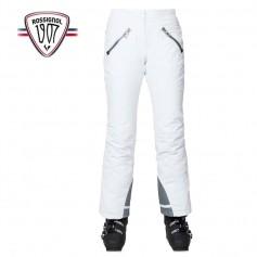 Pantalon de ski ROSSIGNOL Supercorde Blanc Femme