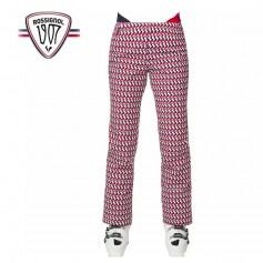 Pantalon de ski ROSSIGNOL Médaille Print Pant Multicouleur Femme