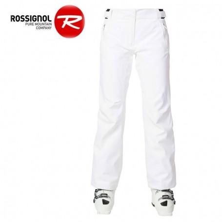 Pantalon de ski ROSSIGNOL Ski Pant Blanc Femme