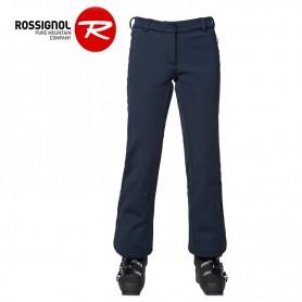 Pantalon de ski ROSSIGNOL Softshell Pant Bleu marine Femme
