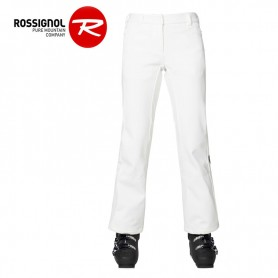 Pantalon de ski ROSSIGNOL Softshell Pant Blanc Femme