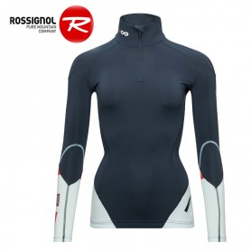 Maillot thermique ROSSIGNOL Infini Compression Bleu marine Femme