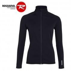 Veste zippée ROSSIGNOL Classique Clim Noir Femme
