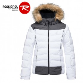 Doudoune de ski ROSSIGNOL Girl BB Polydown Blanc Fille