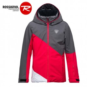 Veste de ski ROSSIGNOL Girl Ski Heather Rose Fille