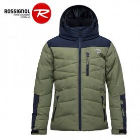 Doudoune de ski ROSSIGNOL Boy Polydown Kaki Garçon