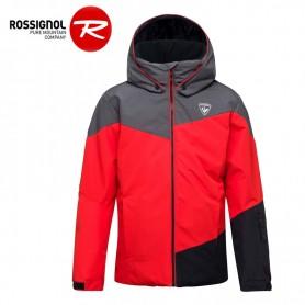 Veste de ski ROSSIGNOL Boy Ski Heather Rouge Orangé Garçon