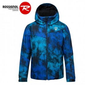 Veste de ski ROSSIGNOL Boy Ski Print Bleu Garçon