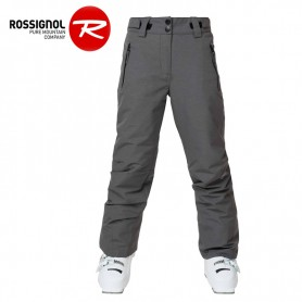 Pantalon de ski ROSSIGNOL Girl Ski Heather Gris Fille