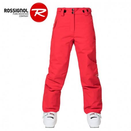 Pantalon de ski ROSSIGNOL Girl Ski Rose Fille