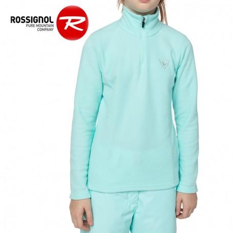 Polaire ROSSIGNOL Girl 1/2 zip Bleu Fille
