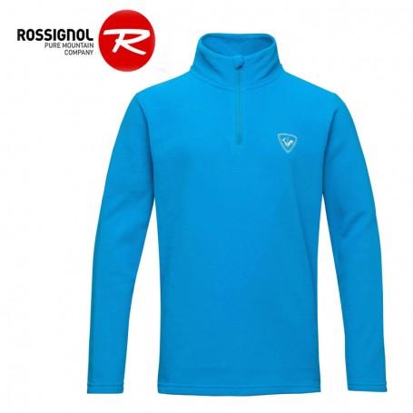 Polaire ROSSIGNOL Boy 1/2 zip Bleu Garçon