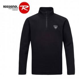 Polaire ROSSIGNOL Boy 1/2 zip Noir Garçon