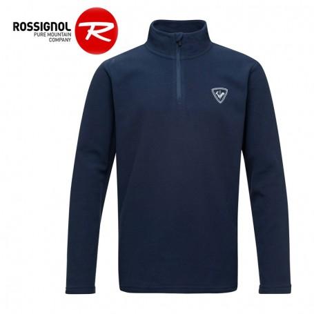 Polaire ROSSIGNOL Boy 1/2 zip Bleu marine Garçon